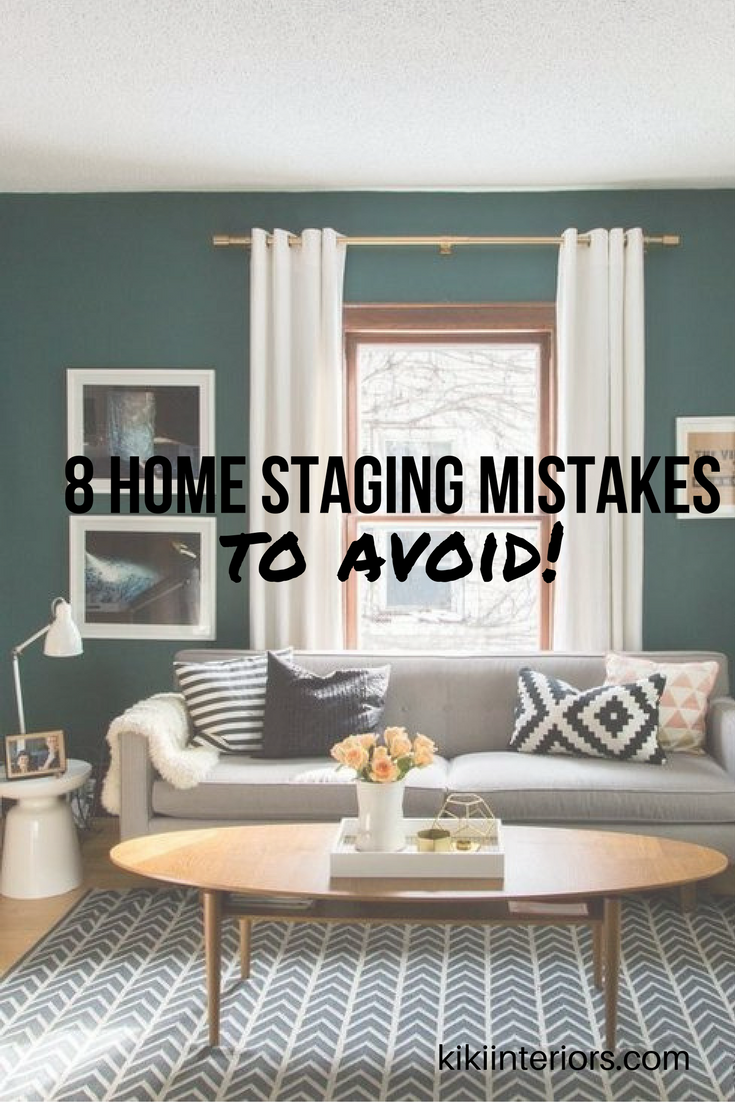 Do not try this at home 8 biggest home staging mistakes How long does it take to paint a living room