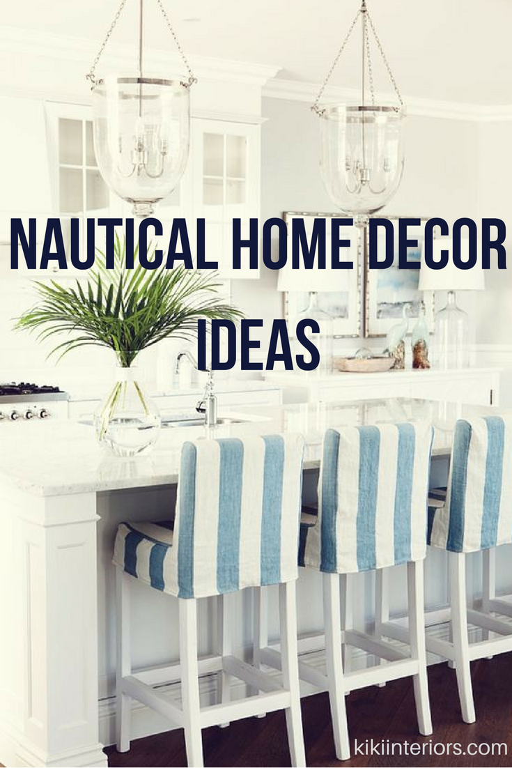 Nautical Decor Ideas! | interiorsbykiki.com