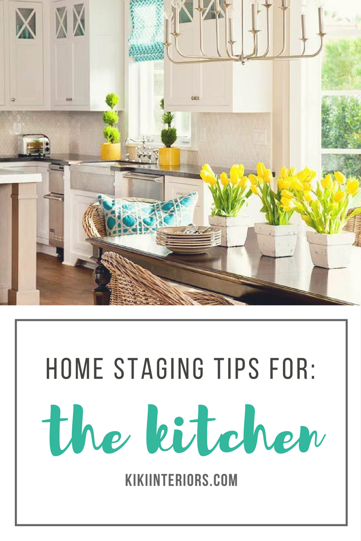 Home Staging Tips For The Kitchen