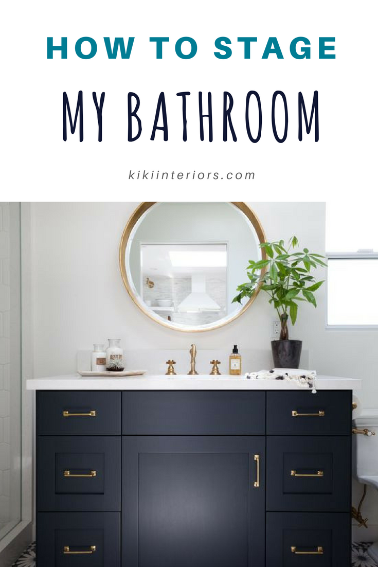 How To Stage A Bathroom. Home Staging Bathroom