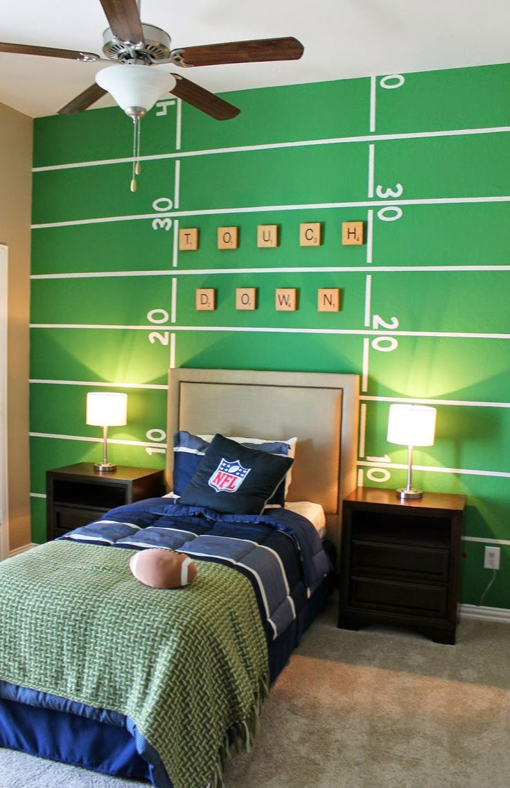 Super Bowl 50 - Football Decor Ideas | interiorsbykiki.com
