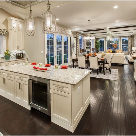 Open Space Kitchen Ideas: How To Decorate An Open Concept Space