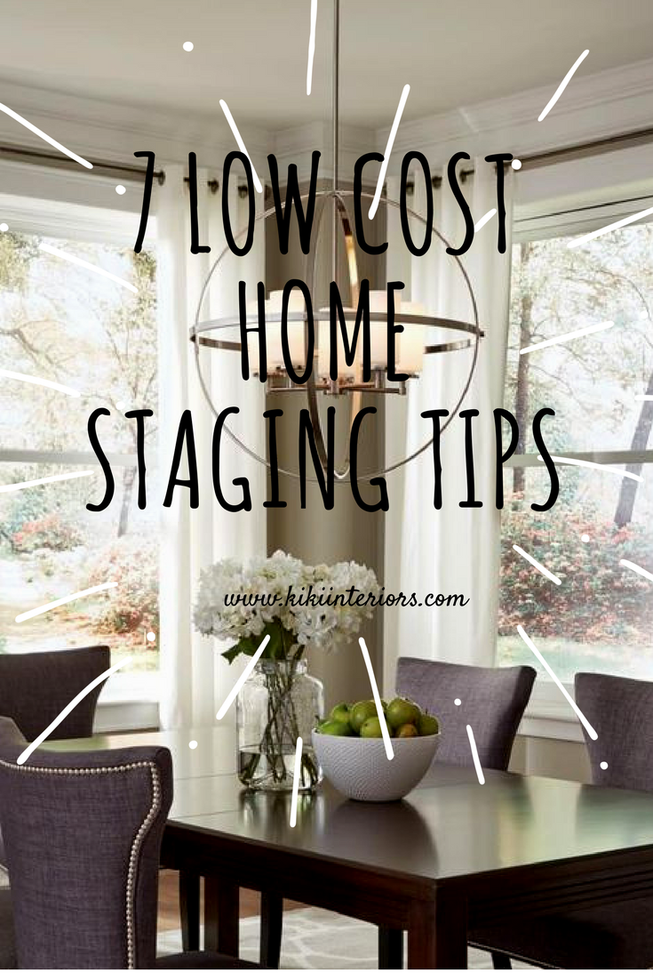 We answer wednesday low cost home staging tips