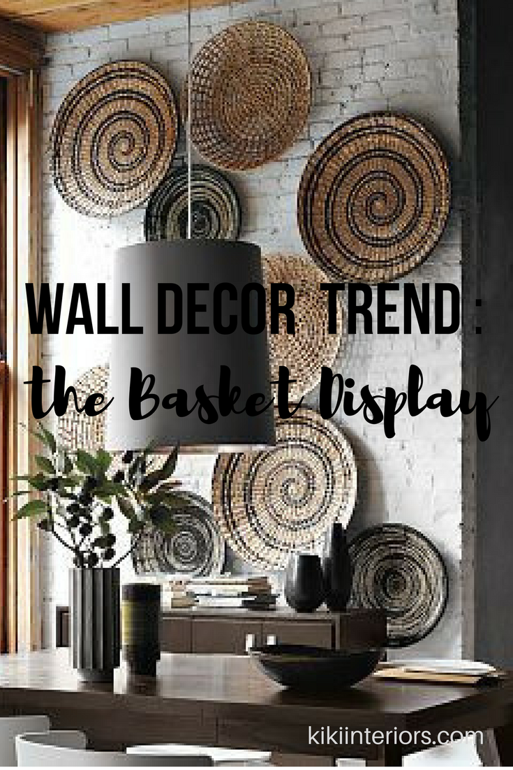 Wall Decor Baskets