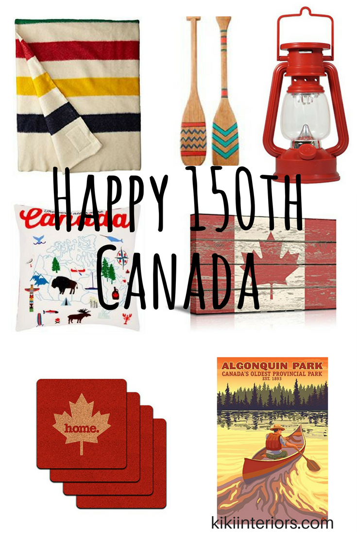 Happy 150th canada home decor for Home decor online canada