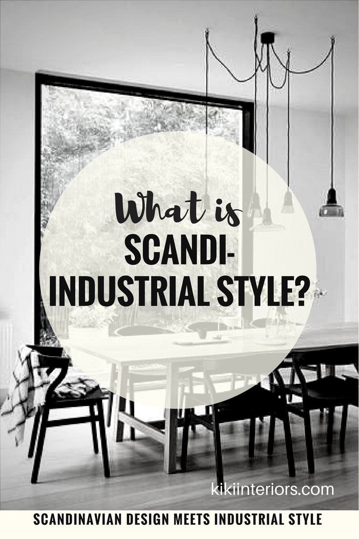 Scandi Industrial Home Decor Style