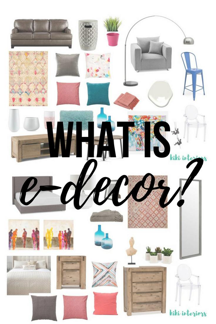what-is-e-decor