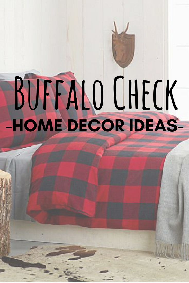 Decorating Buffalo Check