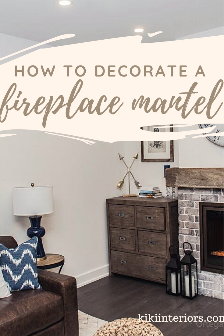 how-to-decorate-your-fireplace-mantel & How to decorate your fireplace mantel | interiorsbykiki.com