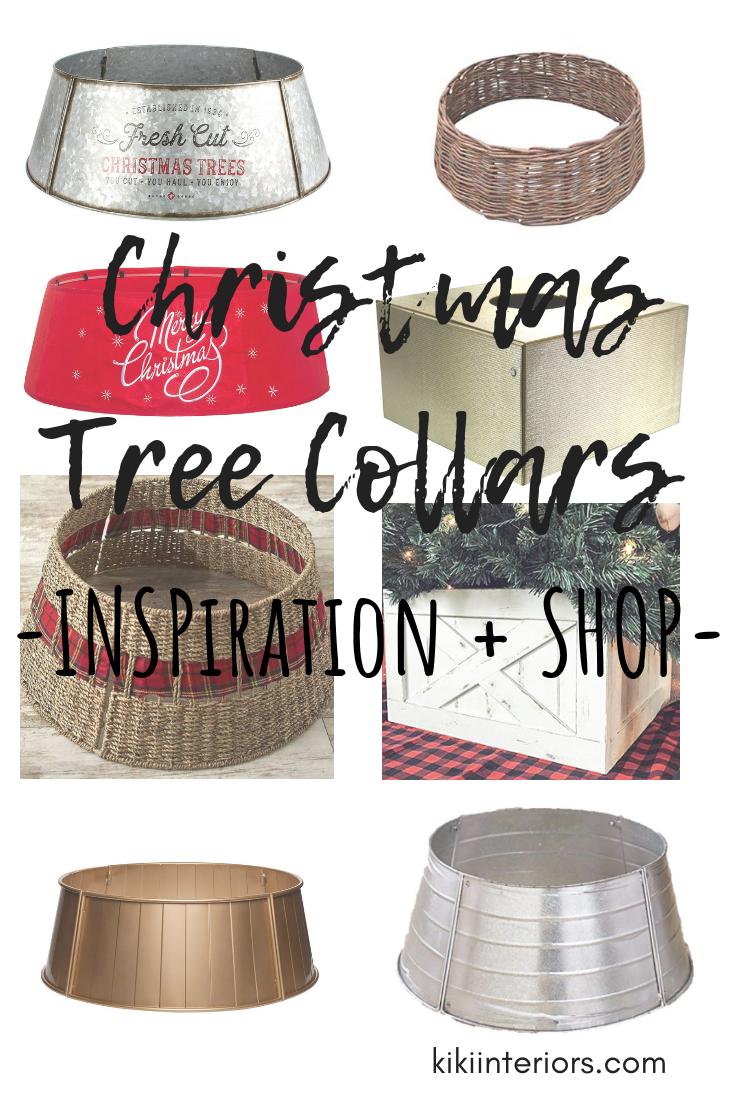 Christmas Tree Collars Inspiration Shop Kikiinteriors Com